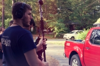 Connor James Sound Design Son of Clowns BTS Feature Film