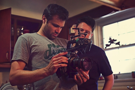 Evan Kidd Son OF CLOWNS DIRECTOR Ned Phillips Camera Cinematographer Filmmaking BEHIND THE SCENES