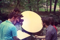 SON OF CLOWNS CREW RIVER SHOOTING