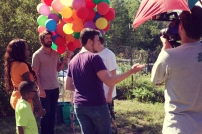 SON OF CLOWNS FEATURE FILM PARTY CLOWN SCENE